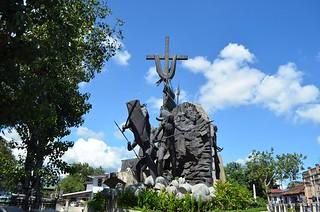 Heritage of Cebu Parian in Cebu City in Philippines
