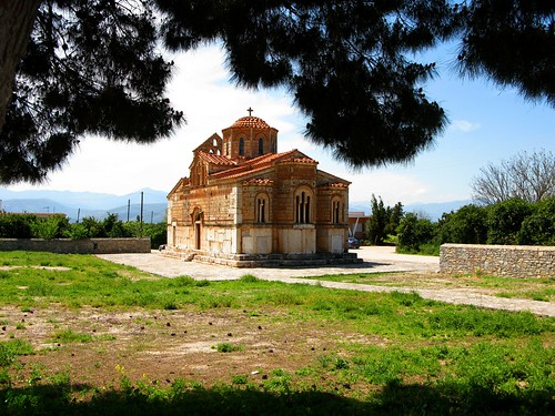 Byzantine church in Aghia Triada, Argolid, April 2011