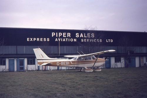 G-BEBI Cessna 172 -Biggin Hill 23-01-1977