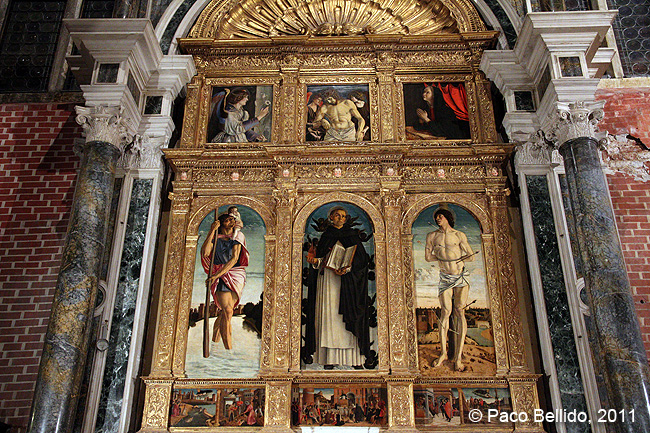Políptico de San Vicente Ferrer de Giovanni Bellini. © Paco Bellido, 2011
