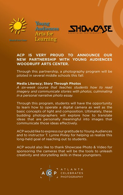 ACP - Young Audiences & Showcase Camera