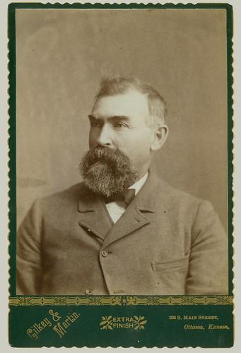 Cabinet Card man with beard