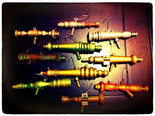 DIY: Ray Gun Christmas Tree Ornaments! by Sanctuary-Studio