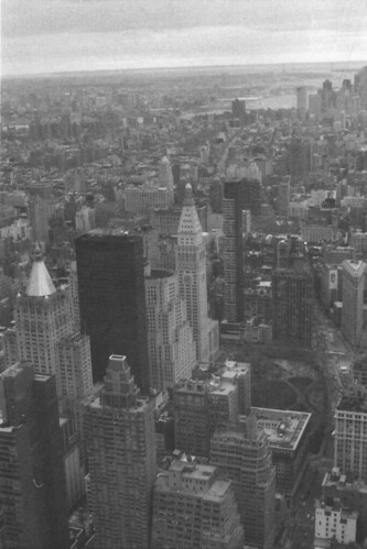 Another view from Empire State Bulding, Svema Film