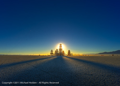 The Temple of Transition - Burning Man 2011