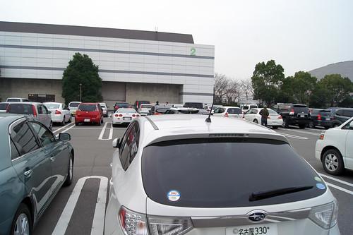 名古屋モーターショー駐車場