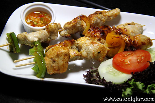 South Asian Chicken Kebab, Beer Belly