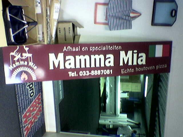 mammamia gevelbord