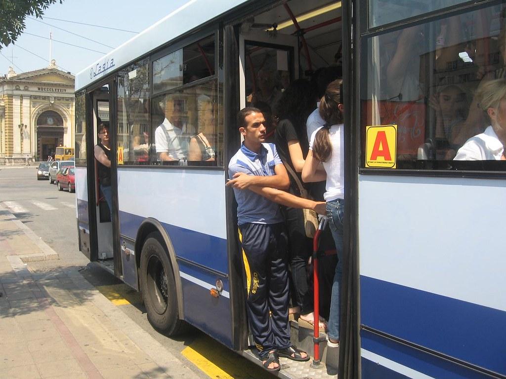 Gužva u gradskom prevozu