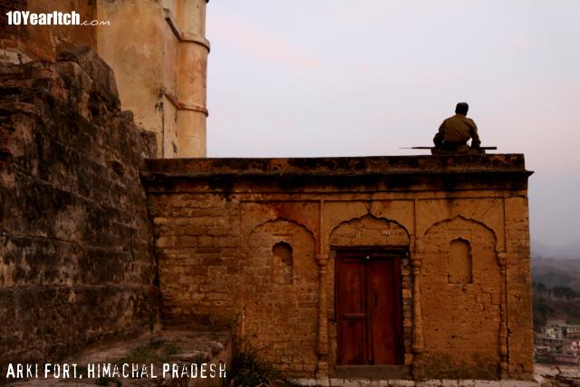 arki fort himachal pradesh
