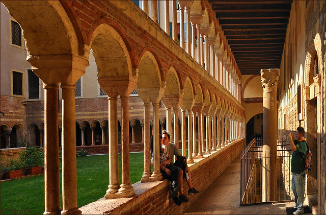 Verona : Cloister of the Duomo : Santa Maria Matricolare - 5/5