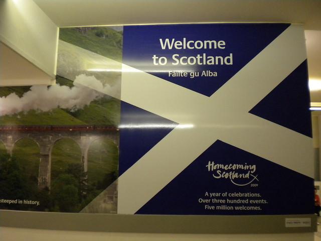 Bienvenido a Escocia