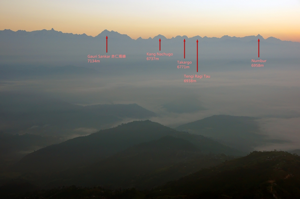 Nagarkot mountain view II