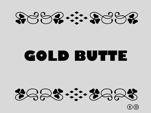Gold Butte (Nevada A-Z)