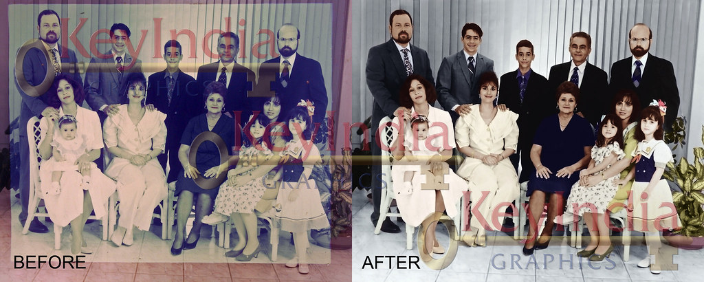 Photo Restoration by KeyIndia Graphics