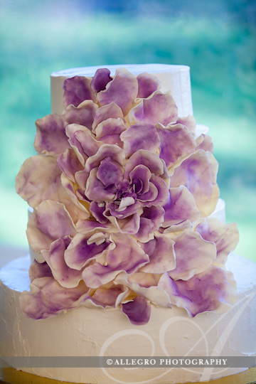 marthas-vineyard-wedding-edgartown-daniel-fisher-details- stunning purple flower cake