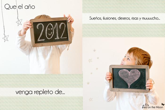 Postal año nuevo