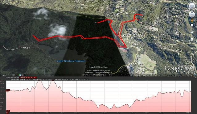 Alfies big walk 2011-12-29
