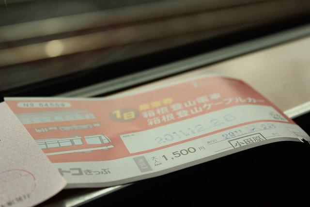 箱根とことこ切符