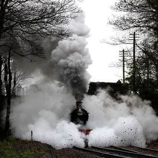 Steam Cleaning the Track