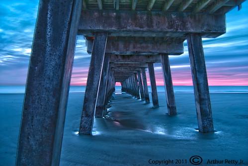 Tybee Island Pier Sunrise #4