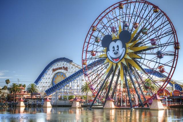Mickey's Fun Wheel at Paradise Pier