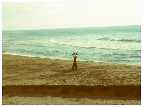 Teepee + Surf = Happy Hipster Shot