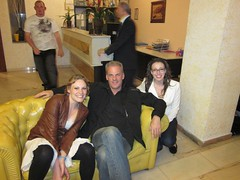 Sorrento, Italy Hotel Lobby with Lydia and Jessica