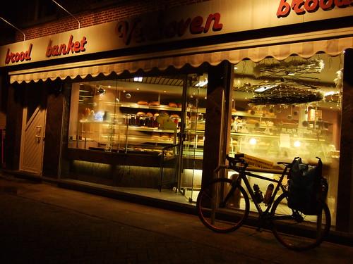 bakery in Belgium, 5am