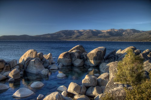Sand Harbour, Lake Tahoe (HDR)