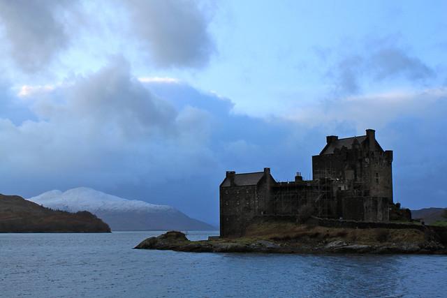 Eilean Donan Castle in Scotland - Flickr CC col_and_tasha