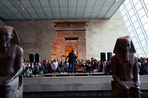 Glen Hansard Live in the Temple of Dendur at the Met NYC - May 2011