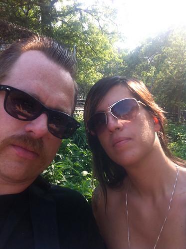 Us at Washington Square Park - May 2011