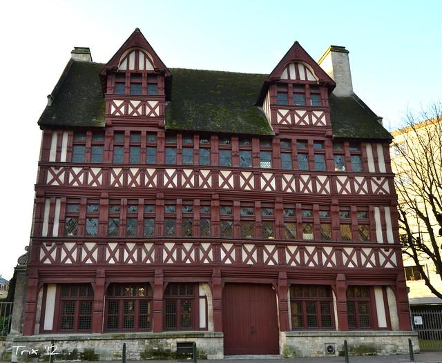 maison des quatrans caen basse normandie flickr photo