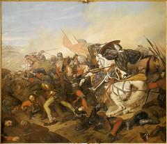 mythology(0.0), infantry(0.0), violence(1.0), war(1.0), painting(1.0), battle(1.0),