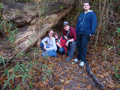 Magnet High geography students, Coates Bluff Nature Trail, Shreveport by trudeau