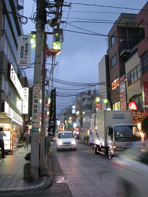 Hiyoshi 日吉 - Street 通り
