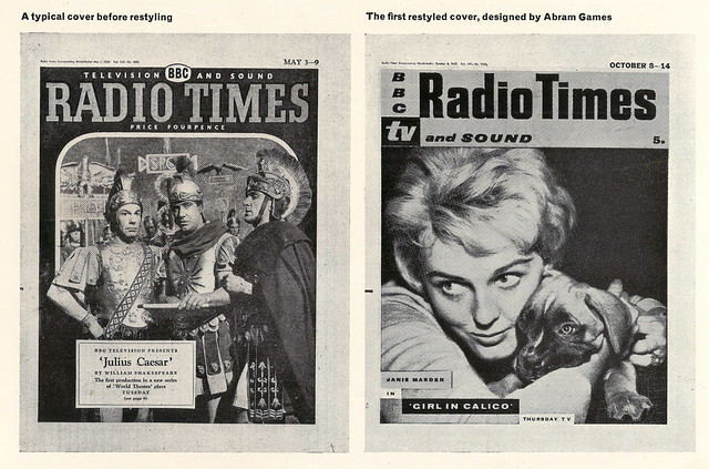 Design Magazine June 1961 - Radio Times revamp