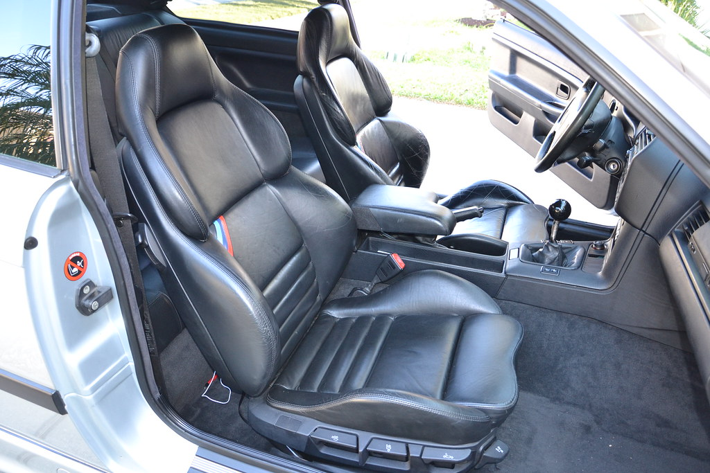 Black manual vader seats from 39 97 m3 tampa racing for Interior bmw e36