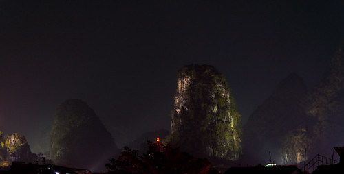 Yangshou at night II