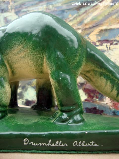 Dinosaur souvenir from Drumheller, AB