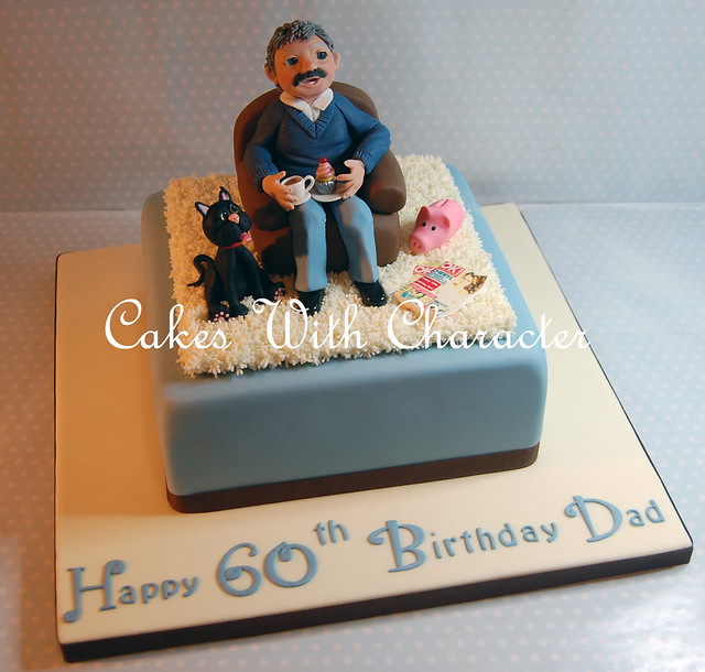 Birthday Cake With Photo Upload Free : Pask s 60th Birthday Cake Flickr - Photo Sharing!