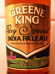 52 beers 4 - 21, Greene King, Very Special India Pale Ale, England