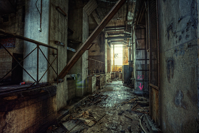 Urban exploring in France