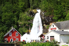 Fossatun Waterfall