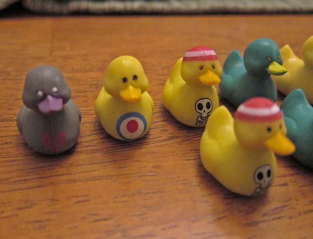 Duck Fan Forum - Different vending machine ducks!
