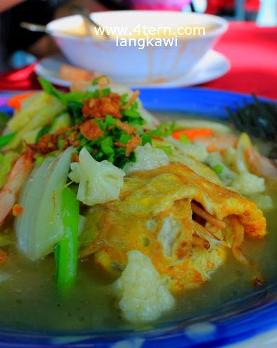 兰卡威美食-特殊的卷卷面Mee Gulung