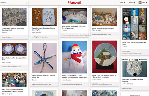 Pinterest - Kids' Winter Activities