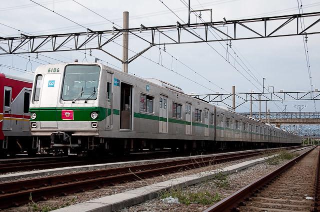 東京メトロ千代田線 6000系 6106F