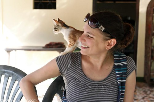 Friendly Kitten, and me